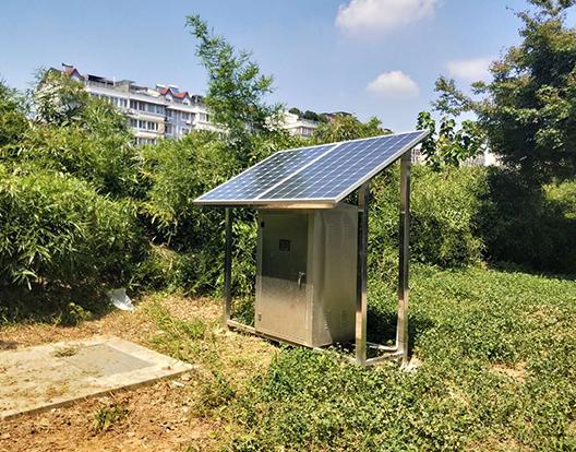 太阳能液压闸门绍兴世禾新村项目