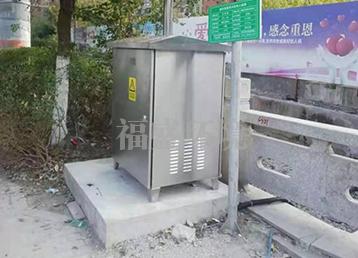 云南市电供电型截流井设备
